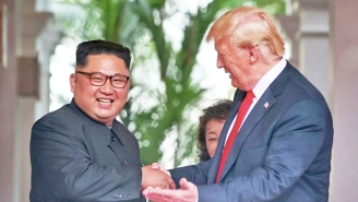President Trump Made A Bizarre Fake Movie Trailer For Kim Jong Un: 'Two Leaders, One Destiny'