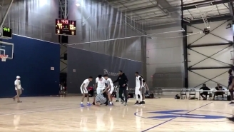 An AAU Basketball Game Turned To Mayhem When Players Started Fighting With Officials