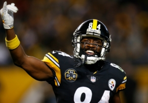Antonio Brown Smiled His Way Onto The Cover Of 'Madden 19'