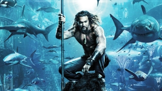 'Aquaman' Debuts A Bonkers New Poster To Go With Its 'Less Dark' Tone