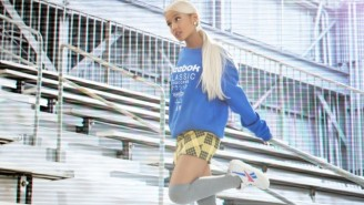 Ariana Grande Teams Up With Reebok For A Bold, Confident New Sneaker