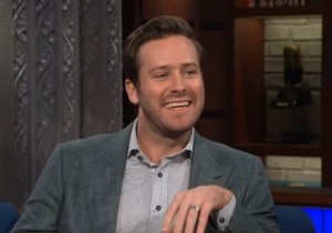 Armie Hammer Says 'Call Me By Your Name' Fans Are Asking Him To Sign Peaches