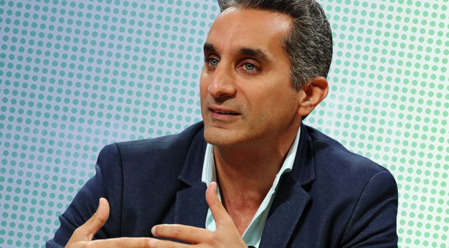 Bassem Youssef Thinks We're All Outsiders, And That's What Can Unite Us
