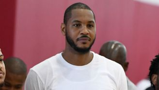 Carmelo Anthony Says The Government 'Completely Turned Their Back' On Puerto Rico After Hurricane Maria