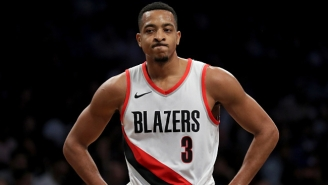 Blazers Guard C.J. McCollum Is Out At Least A Week With A Minor Knee Injury