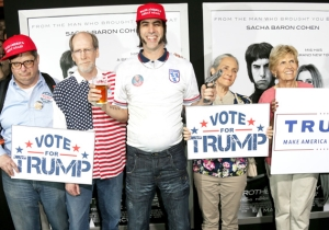 Sacha Baron Cohen Celebrates The Fourth Of July By Teasing A Possible Trump University Project