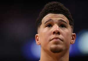 Devin Booker Appeared To Aggravate His Hamstring Injury Against The Lakers