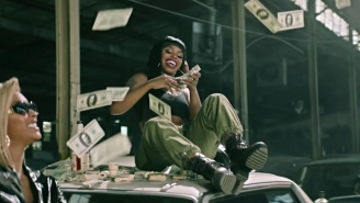 Dreezy Stages A Strip Club Stickup In Her Action-Packed 'Where Them $ @' Video