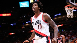 Damian Lillard And C.J. McCollum Weren't Happy The Blazers Let Ed Davis Leave