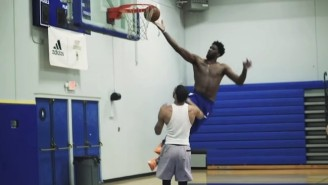 Watch Joel Embiid, Jayson Tatum, And Mo Bamba Go At It In Intense 1-On-1 Games