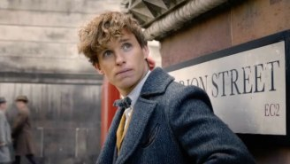 The 'Fantastic Beasts' Comic-Con Trailer Sends Newt Scamander After Grindelwald