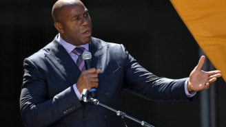 Magic Johnson Says He Built The Lakers' Roster After Watching 'Every Series' In The 2018 Playoffs