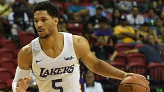 Josh Hart Is The Second Lakers Guard In A Row To Be Named Summer League MVP