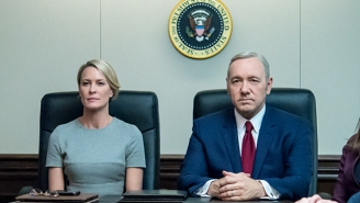 Robin Wright Breaks Her Silence On The Allegations Against Former 'House Of Cards' Co-Star Kevin Spacey