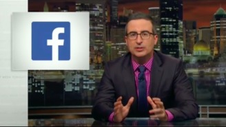 John Oliver Deftly And Hilariously Reminded 'Last Week Tonight' Viewers That Facebook Is Not Their Friend