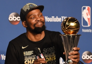 The Warriors Apparently Worried Kevin Durant May Leave After His Muted Reaction To Winning Titles