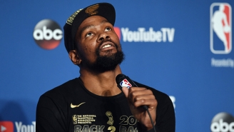 Some Warriors Insiders Reportedly Weren't Certain Kevin Durant Would Re-Sign This Summer