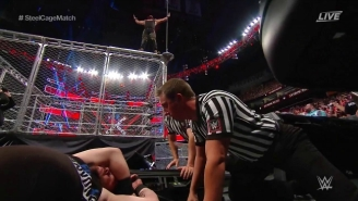Kevin Owens Took A Monstrous Fall At WWE Extreme Rules