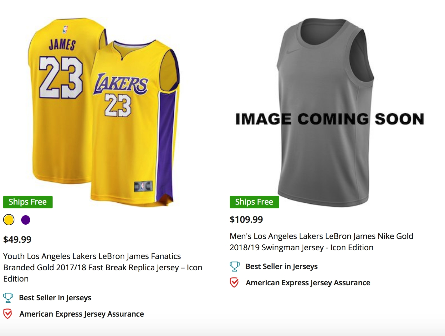 timeless design ef425 c9deb The Lakers New LeBron Shirseys Hint At A Return Of The ...