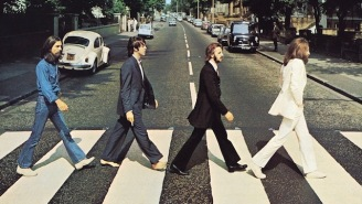 Paul McCartney Recreated The Famous Beatles 'Abbey Road' Album Cover Walk