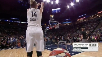 Allie Quigley Won Back-To-Back WNBA Three-Point Contest Titles With This Stunning Performance