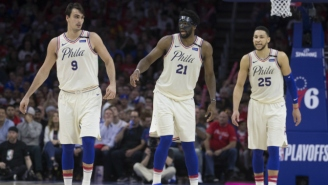 The Spurs Wanted Joel Embiid Or Ben Simmons In A Potential Kawhi Leonard Trade With The Sixers