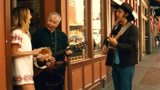 John Prine Plays On The Streets Of Nashville In The 'Knockin' On Your Screen Door' Video