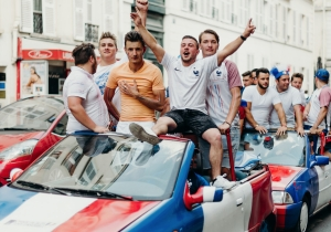 Finding Community While Watching The World Cup In A Paris Bar