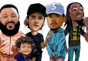 DJ Khaled's 'No Brainer' Is A Bubbly Summer Anthem With Chance The Rapper, Justin Bieber, And Quavo