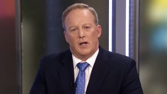 Watch Sean Spicer Stammer Hopelessly As He Gets Absolutely Grilled By A BBC Interviewer