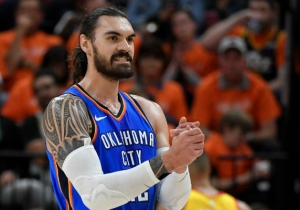 Steven Adams Was Upset About Getting Punched In The Face Becuse He Couldn't Eat Waffles