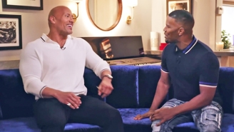 Please Enjoy The Rock And Jamie Foxx's Lovely Conversation About How It's Nice To Be Nice