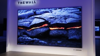 Samsung Is Taking Big TVs To The Extreme With 'The Wall'