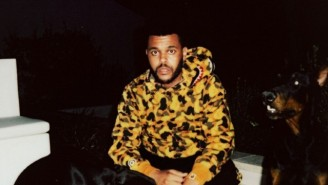 The Weeknd and BAPE Are Releasing A Capsule Collection This Friday