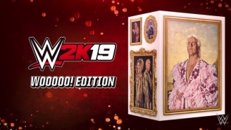 'WWE 2K19's Wooooo! Edition Comes With Special Ric Flair Memorabilia