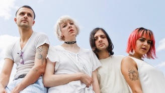 Dilly Dally's New Single 'Sober Motel' Is A Sludgy And Explosive Meditation On Sobriety