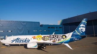 Sub Pop Celebrated Their 30th Anniversary In Style With A Custom-Wrapped Jumbo Jet