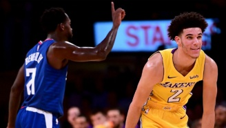 Patrick Beverley's One Word To Describe Lonzo Ball: 'Easy'