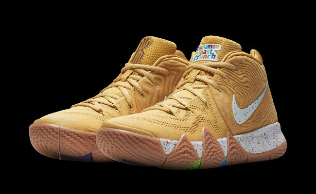 best website 359c5 505d6 Nike Is Releasing A Special 'Cereal' Pack Of Kyrie 4 Designs