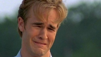 'Dawson's Creek' Alum Joshua Jackson Issues A Crying Meme Challenge To James Van Der Beek