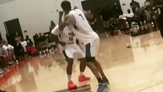 The Game Got In A Fight With His Teammate At The Drew League Playoffs