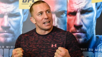 Georges St-Pierre Is Interested In Fighting The Winner Of McGregor Vs. Khabib