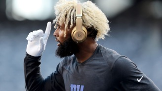 Odell Beckham Jr. Reportedly Agreed To A Deal To Become The NFL's Highest Paid Receiver