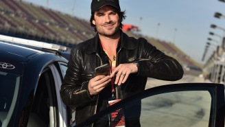 UPROXX 20: Ian Somerhalder Will Have A Glass Of Wine And Some Chocolate, Please