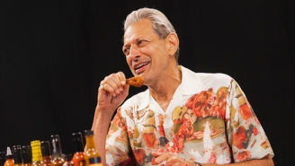 Jeff Goldblum Explains Why He Likes Being Called 'Daddy' While Eating Spicy Vegan Wings