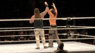 Matt Hardy Got A 'Send Off' At A WWE Live Event On Sunday