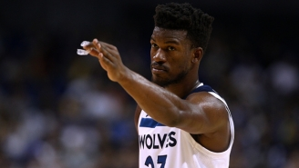 The Wolves Reportedly Tried To Trade Jimmy Butler To The Pelicans And Wizards