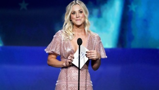 Kaley Cuoco Says She's 'Drowning In Tears' Over 'The Big Bang Theory' Ending