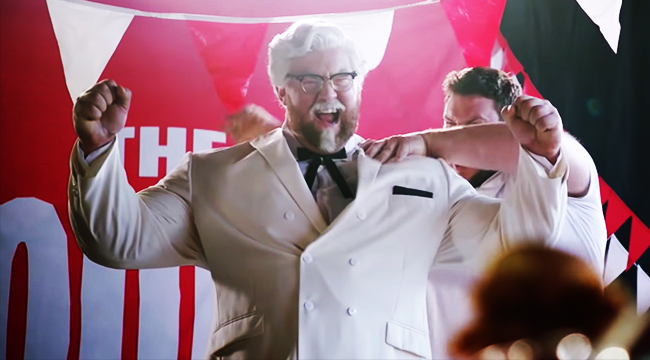 The Mountain From Game Of Thrones Dorks It Up As KFC's