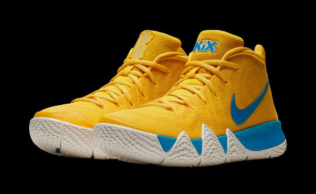 best website 0de98 794b6 Nike Is Releasing A Special 'Cereal' Pack Of Kyrie 4 Designs